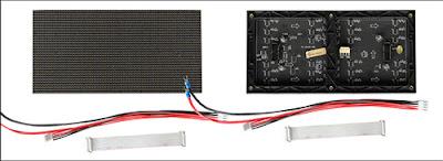 Màn hình led p4 module sử dụng trong nhà và ngoài trời chính hãng tại quận 8
