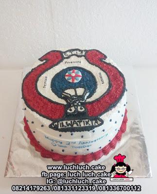 Kue Tart Logo S.T.I.E WILMATIKTA