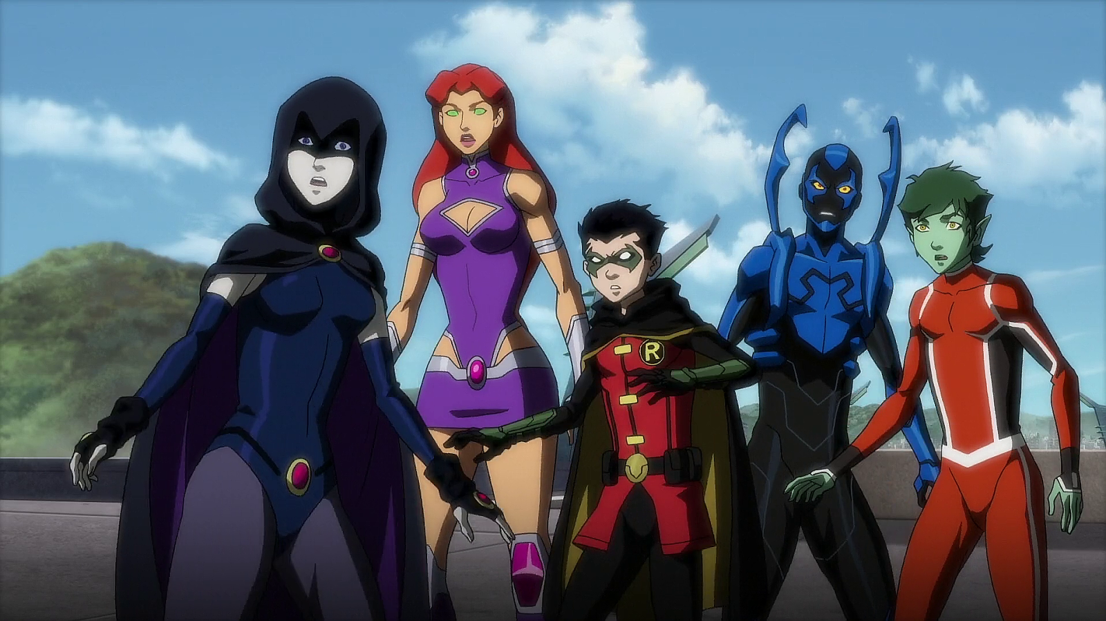 Justice League Vs The Teen Titans Full Movie