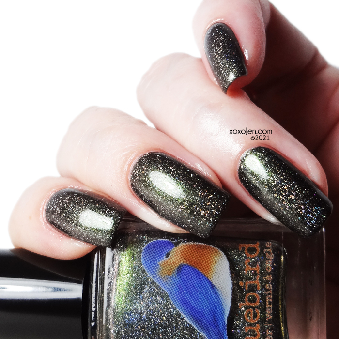 xoxoJen's swatch of Bluebird Lacquer Monster Mash