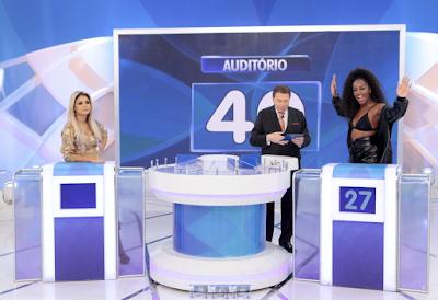 Lexa, Silvio e Iza (Crédito: Lourival Ribeiro/SBT)