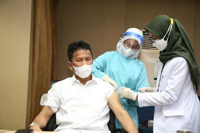 Kepala BP Batam Laksanakan Vaksinasi Tahap Kedua Covid-19