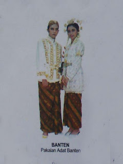 Gambar Baju Busana Adat Banten