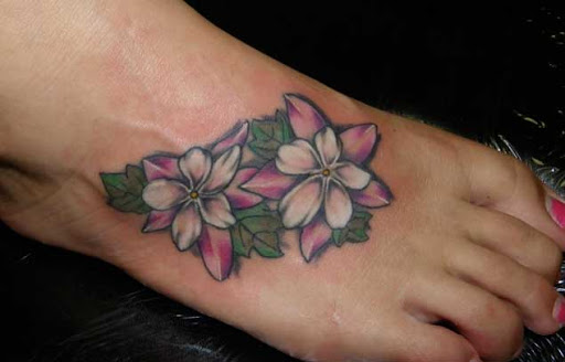 Estas lindas flores