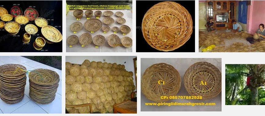 plate stick indonesian handicraft