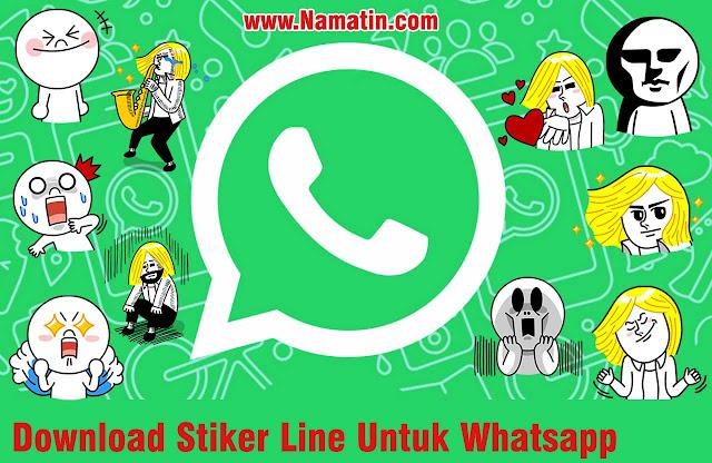 Stiker Line Untuk Whatsapp