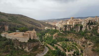 Vista general de la ciudad de Cuenca (España)