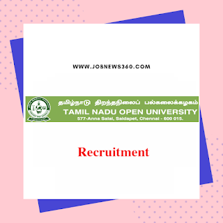 TNOU Recruitment 2019 for Registrar Post