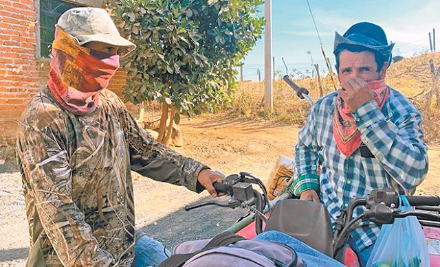 """CON """"RIFLES de ASALTO y LANZAGRANADAS"""": EL """"CJNG"""" REVIENTA PUEBLOS COMPLETOS en MICHOACAN y JALISCO"""