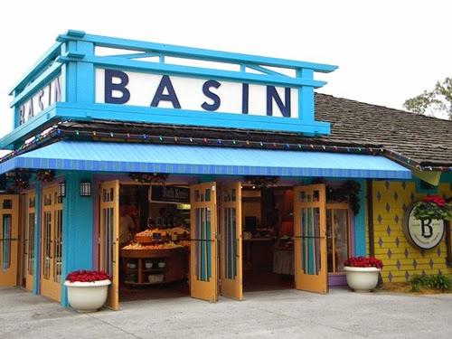 Lojas Basin na Disney em Orlando - Entrada