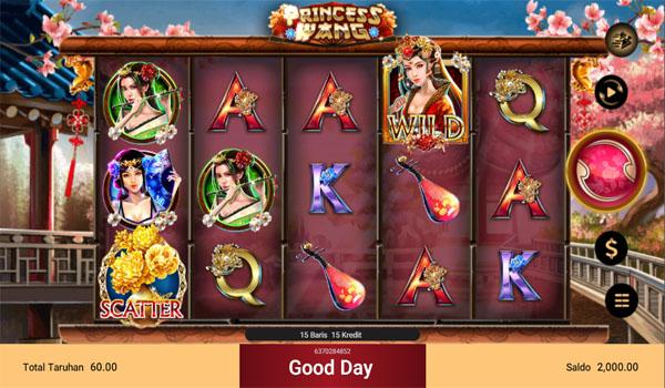 Main Gratis Slot Indonesia - Princess Wang Spadegaming