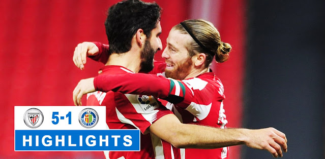 Athletic Club vs Getafe – Highlights