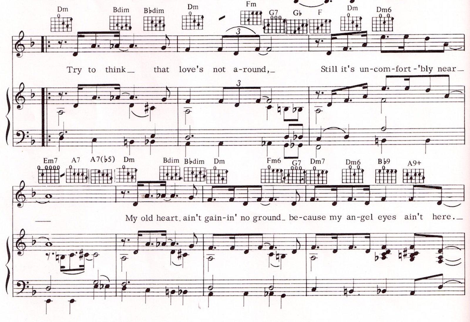 Peter spitzer music blog matt dennis angel eyes st james an error occurred hexwebz Gallery