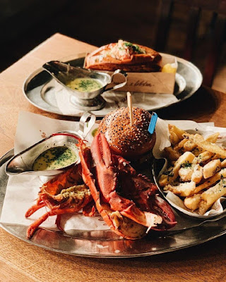 Hamburguesa de Burguer & Lobster en Londres