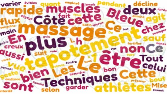 Techniques de massage : Le tapotement sur la Côte Bleue;