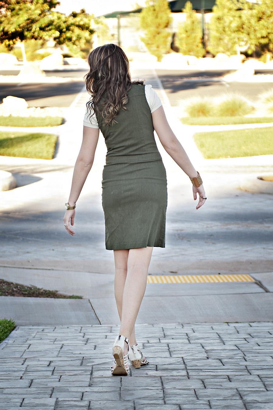 Green Dress,