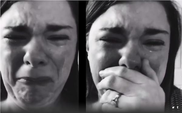 Mujer llora porque sólo un niño fue a fiesta de su hijo con síndrome de Down
