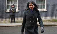 uella Braverman leaving Downing Street after she was promoted to attorney general on 13 February. Photograph: Stefan Rousseau/PA