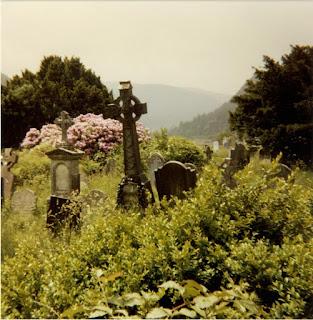 Gravestones, Glendalough, Wicklow, Ireland 1988