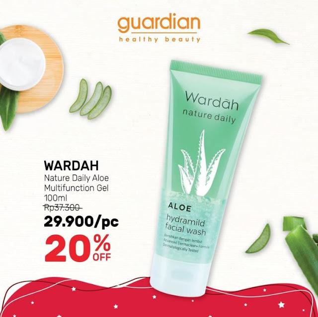 katalog promo guardian produk aloe vera gel berlaku sampai 19 Agustus 2020