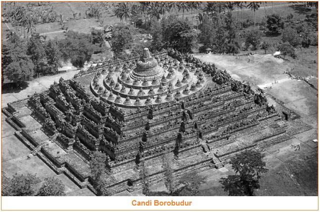 Candi Borobudur - Peninggalan Sejarah yang Bercorak Agama Buddha (Tingkatan Candi Buddha)