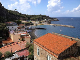 Marina di Puolo is one of several charming fishing villages on the Sorrentine Peninsula