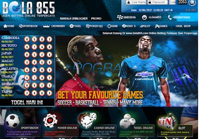 permainan bola/poker online yang terpercaya