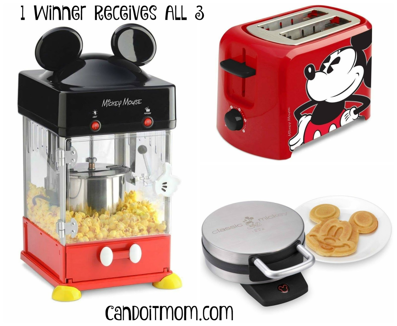 Mickey Mouse Kitchen Appliances Candoitmom Blog Giveaway Add Disney Magic To Your Kitchen