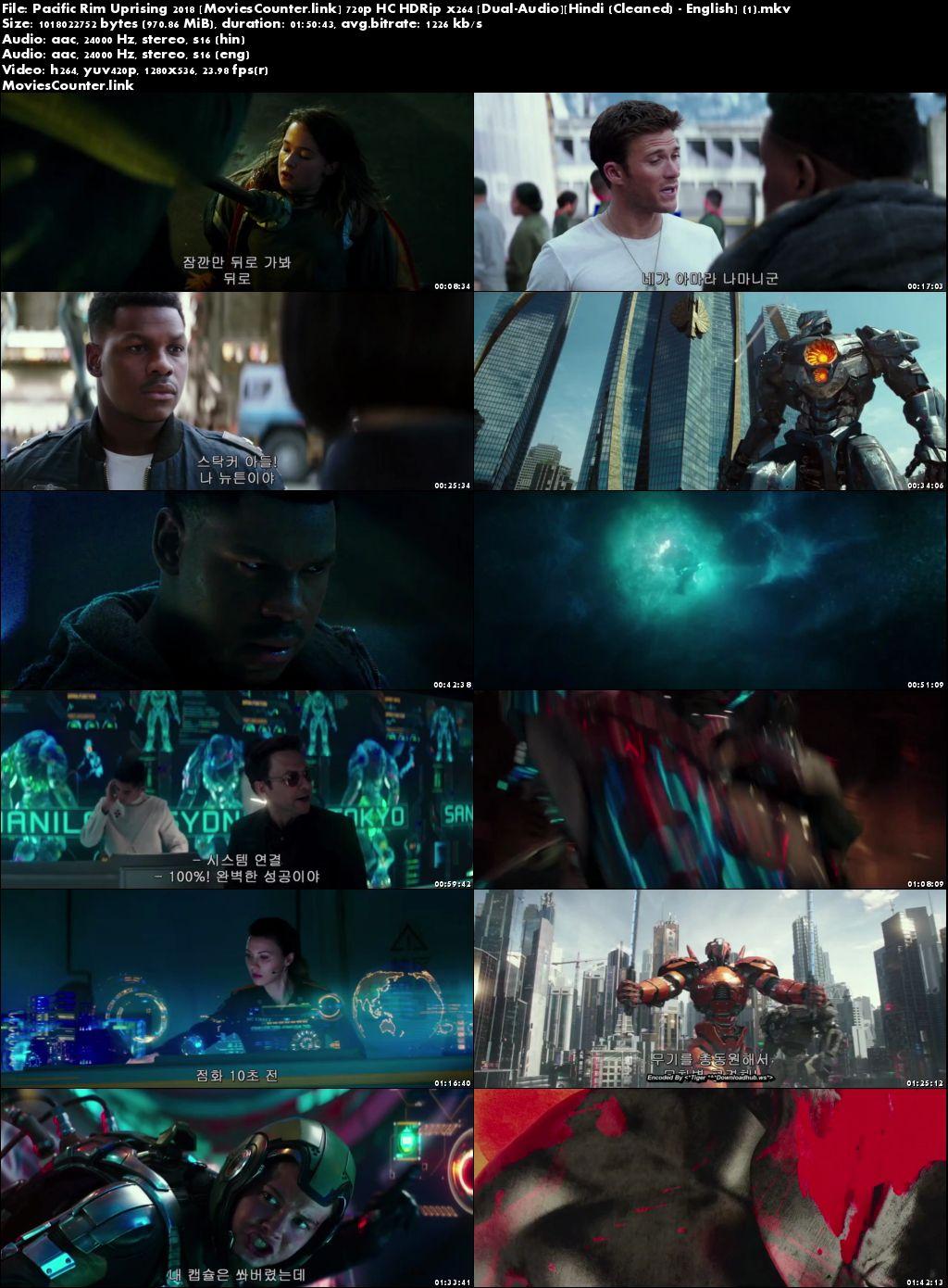 Screen Shot Pacific Rim: Uprising 2018 Dual Audio HD 720p