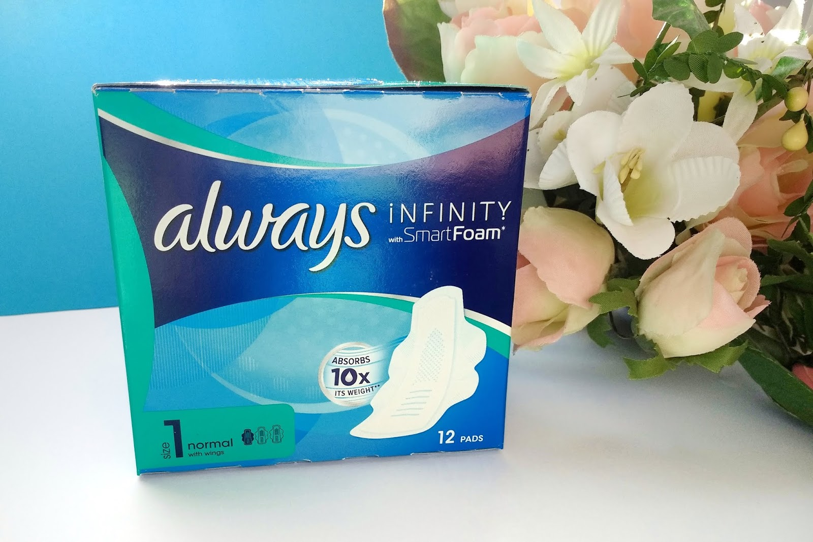 Podpaski Always Infinity | Krótka recenzja i moje spostrzeżenia
