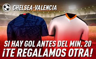 sportium Promo Chelsea vs Valencia 17 septiembre 2019