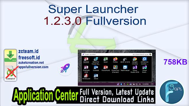 Super Launcher 1.2.3.0 Fullversion