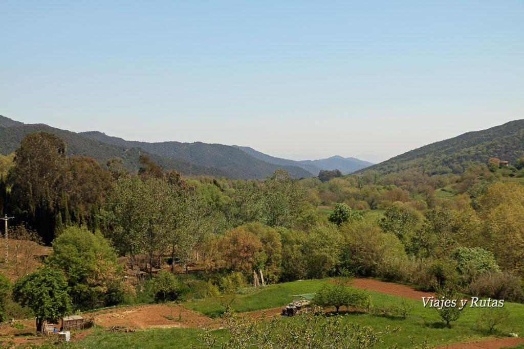 Valles de la Garrotxa,Santa Pau, Girona