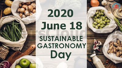 Sustainable Gastronomy Day 18 June, 2020