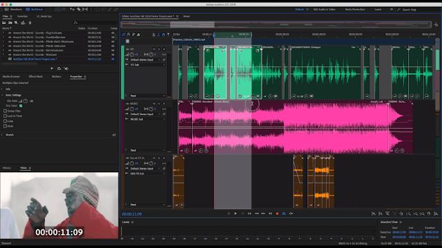 Adobe Audition CC 2019 - Giảm tiếng ồn video