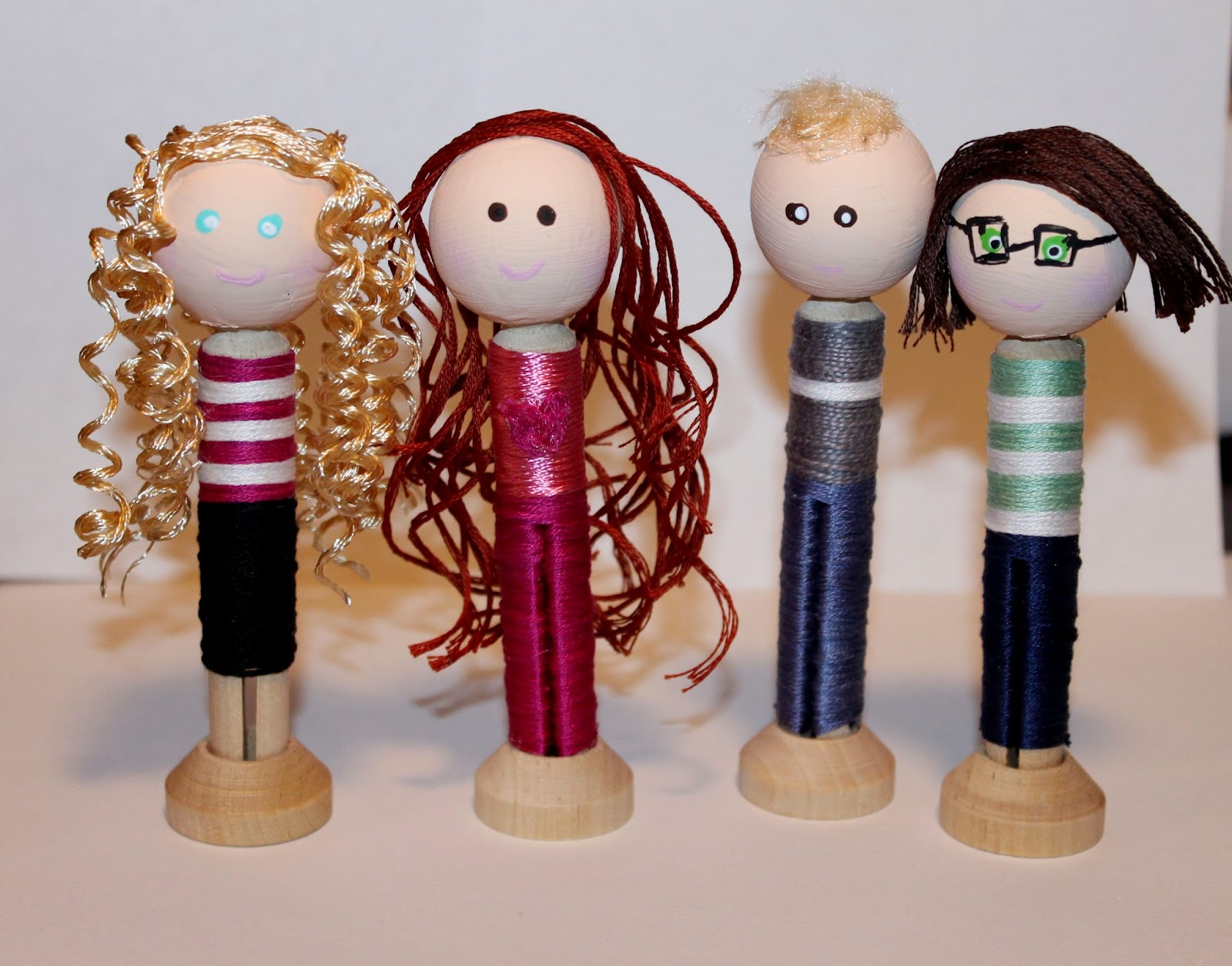 how to make clothespin dolls, clothes pin dolls