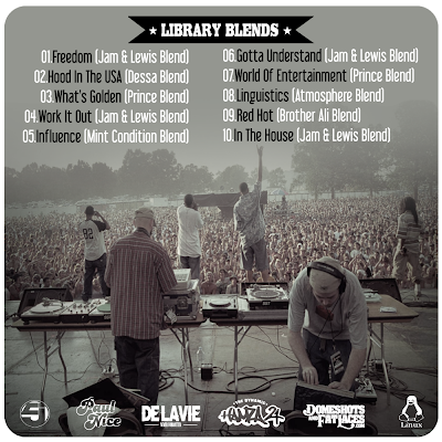 Library Blends - Jurassic 5 Vs Paul Nice - Tracklist