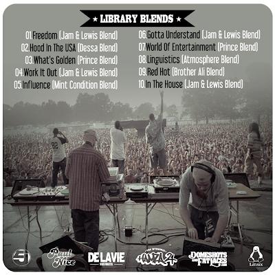 Library Blends - Jurassic 5 Vs Paul Nice - Tracklist