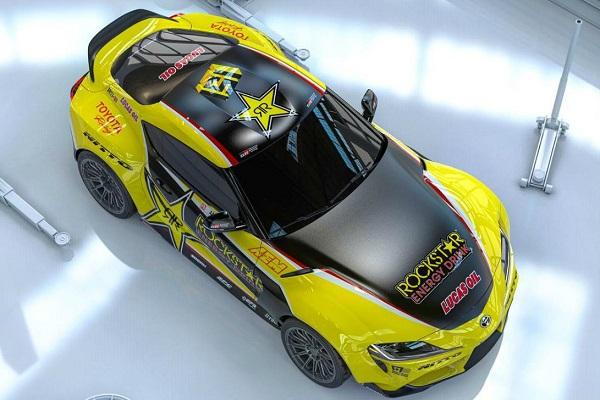 Toyota GR Supra de Papadakis Racing