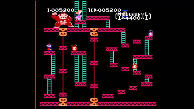 Juego de Donkey Kong para la consola Atari 2600