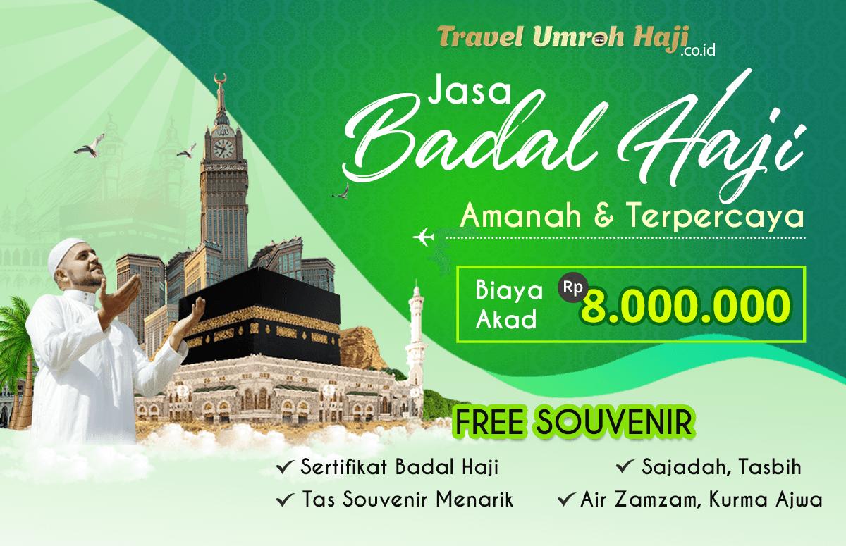 Biaya Badal Haji 2021 Jasa Resmi Amanah Bersertifikat