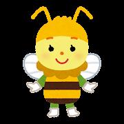ハチのキャラクター(虫)