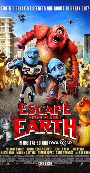 Download Film Escape from Planet Earth (2013) beserta Link Download
