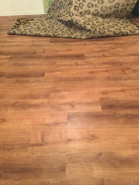 Lifeproof floors in dining room