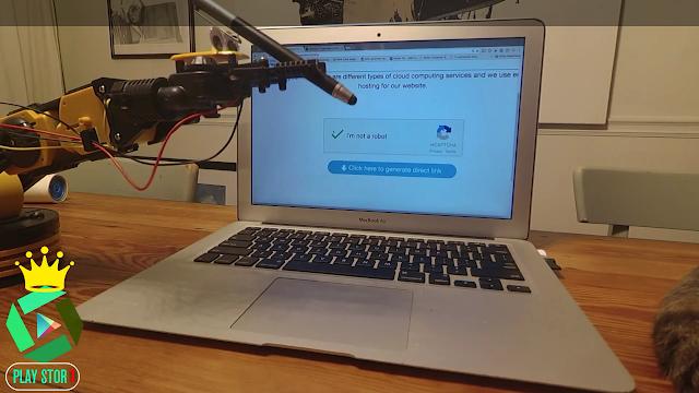 روبوت يقهر مطور reCAPTCHA انا لست برنامج روبوت 😂