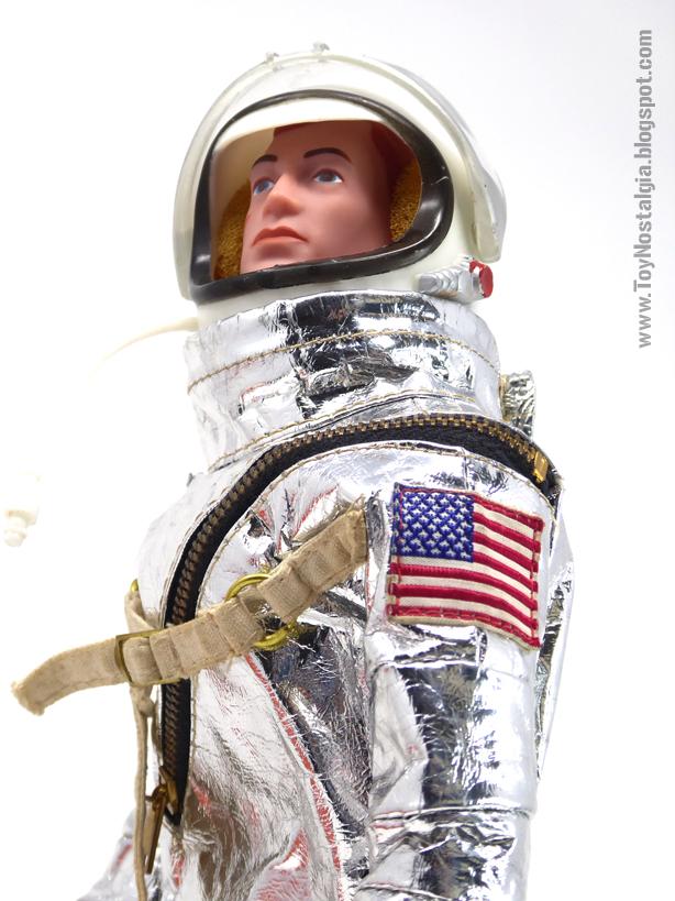 ACTIONMAN Astronauta- Traje con casco (ACTION MAN ASTRONAUT  HASBRO-PALITOY)