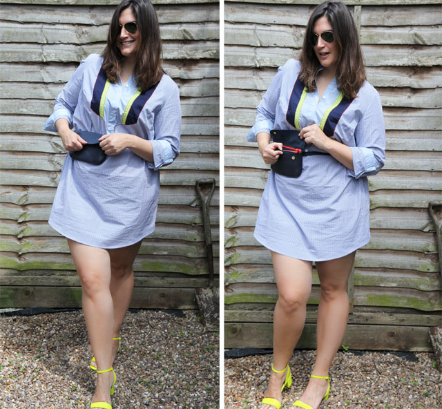 Eloquii short bib dress