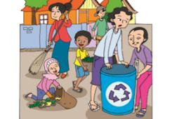 Kerjasama, Keberagaman dalam  Cerita Tong Sampah Gotong Royong Pembelajaran Tematik Kelas 4 SD