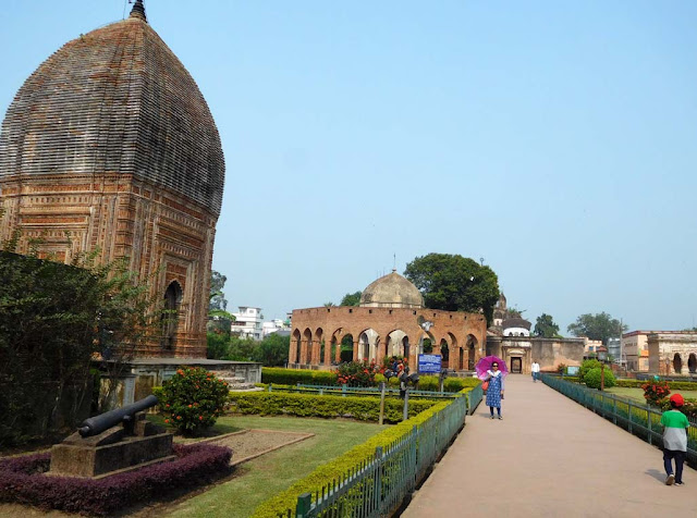 Kalna Rajbari Temple complex, West Bengal