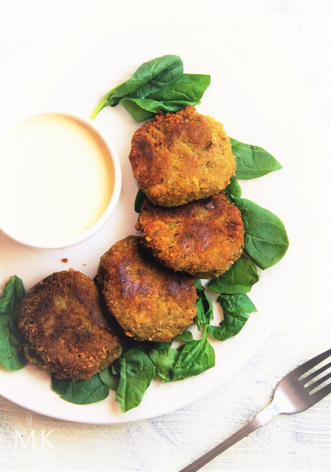 falafel-espinacas